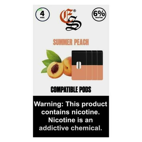 EONSMOKE PODS FOR JUUL: SUMMER PEACH