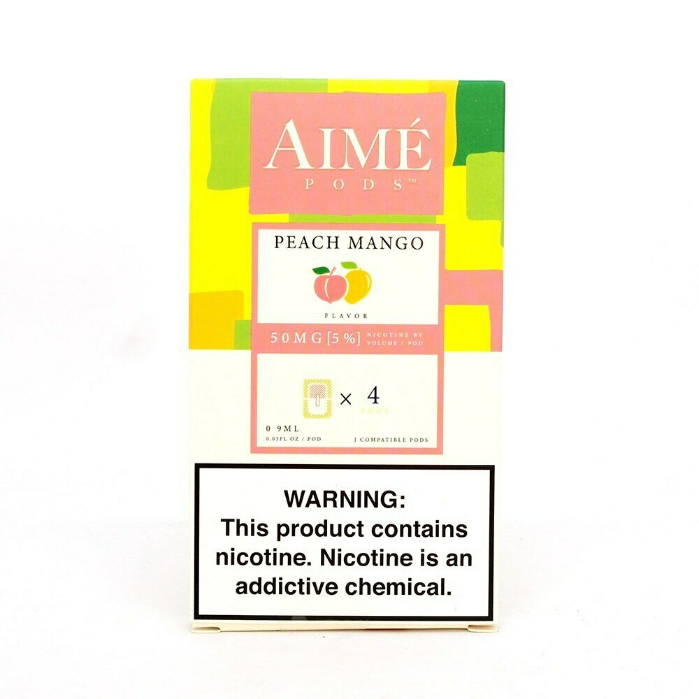 AIME PODS FOR JUUL: PEACH MANGO