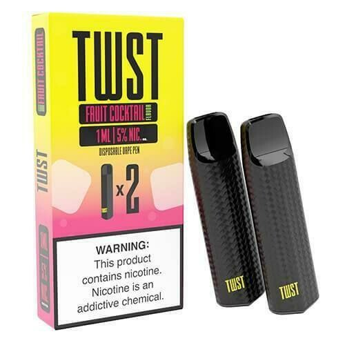 TWST DISPOSABLE POD: FRUIT COCKTAIL 50MG