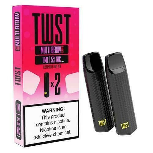 TWST DISPOSABLE POD: MULTI BERRY 50MG