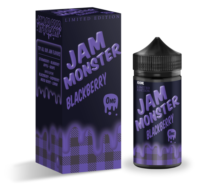 JAM MONSTER: BLACKBERRY 100ML 3MG
