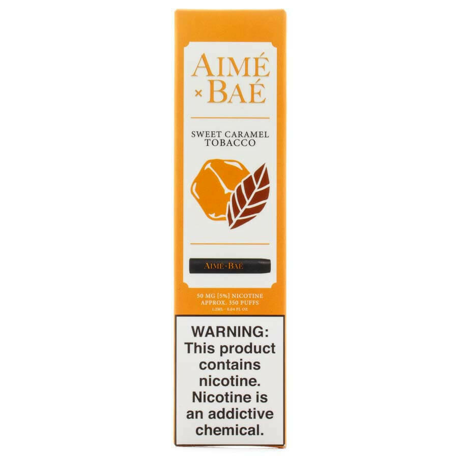 AIME X BAE DISPOSABLE POD: SWEET CARAMEL TOBACCO 50MG