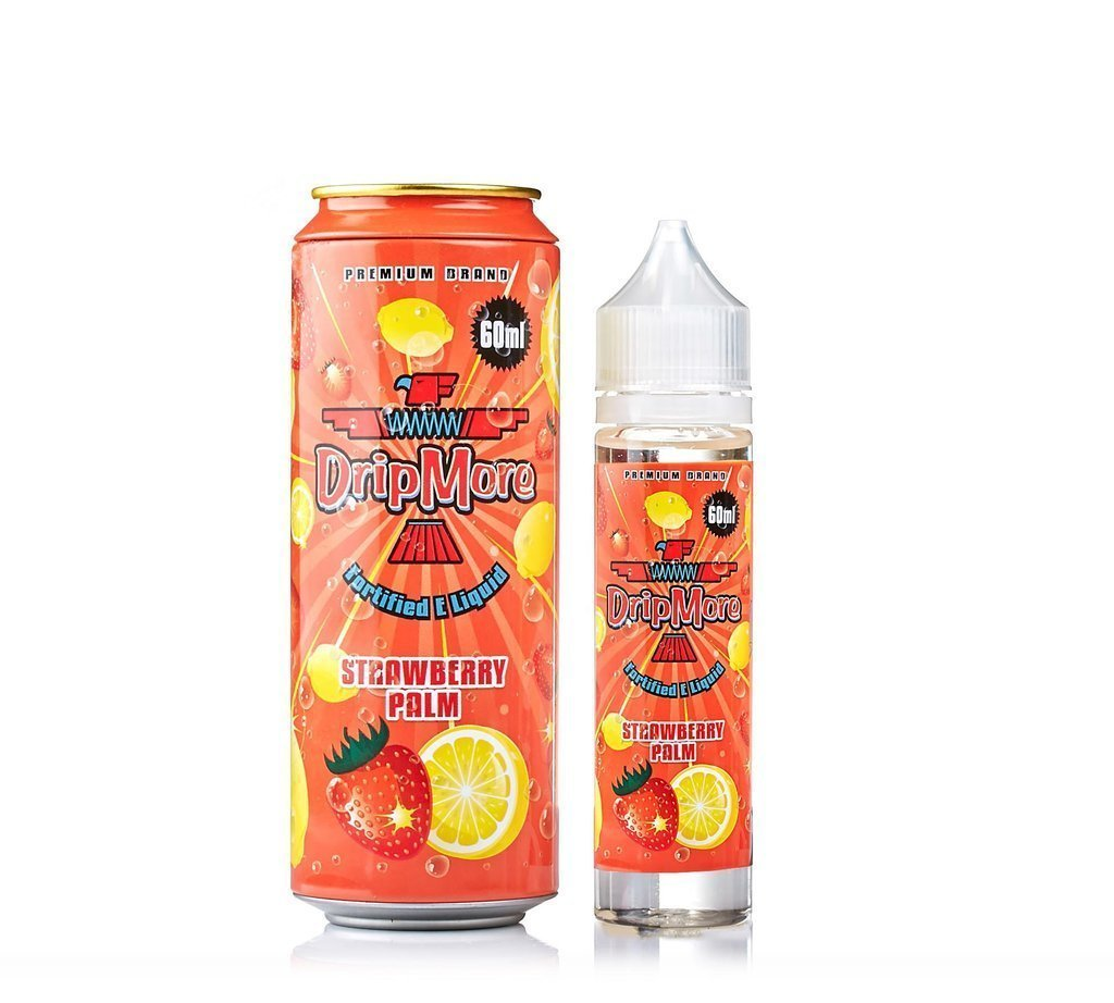 DRIP MORE: STRAWBERRY PALM 60ML