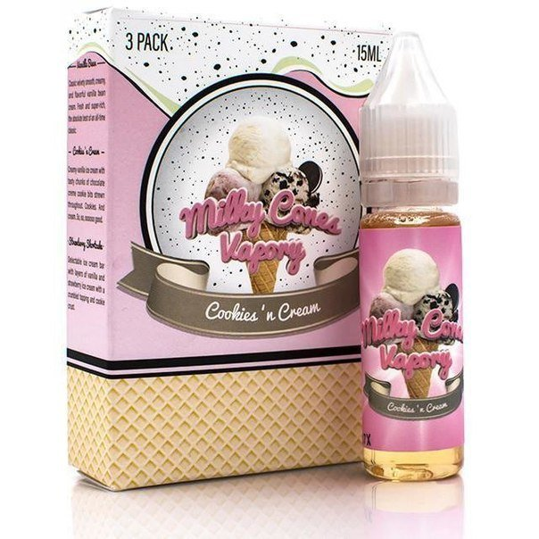 MILKY CONES VAPORY:COOKIES N CREAM 45ML