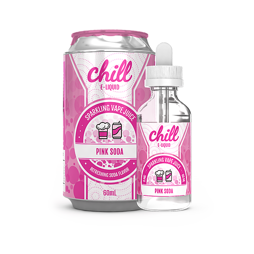 NAKED CHILL:PINK SODA 60ML