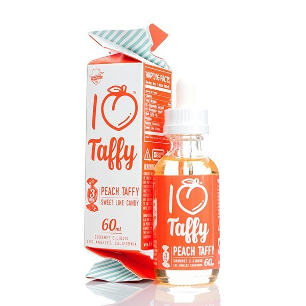 MAD HATTER JUICE: I LOVE PEACH TAFFY 60ML