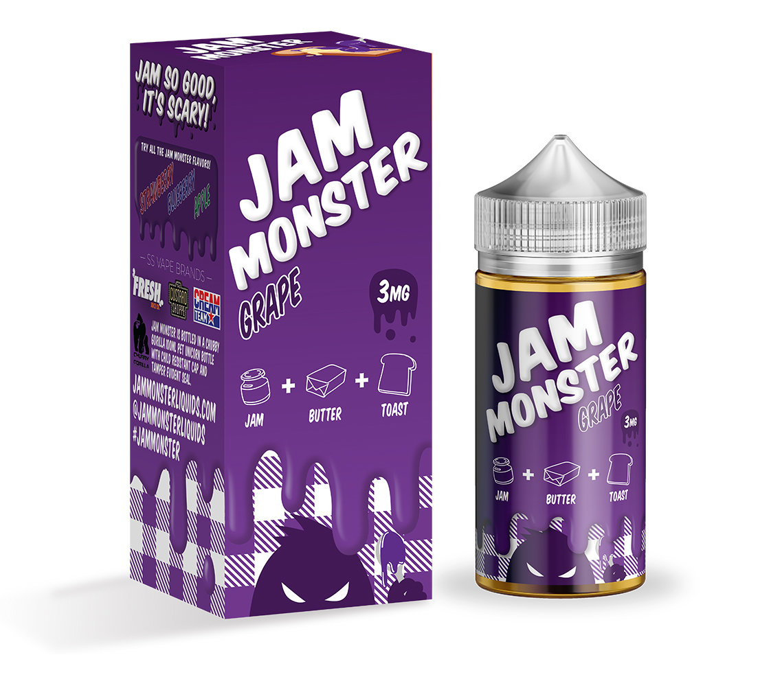 JAM MONSTER: GRAPE 100ML