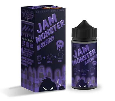 JAM MONSTER: BLACKBERRY 100ML