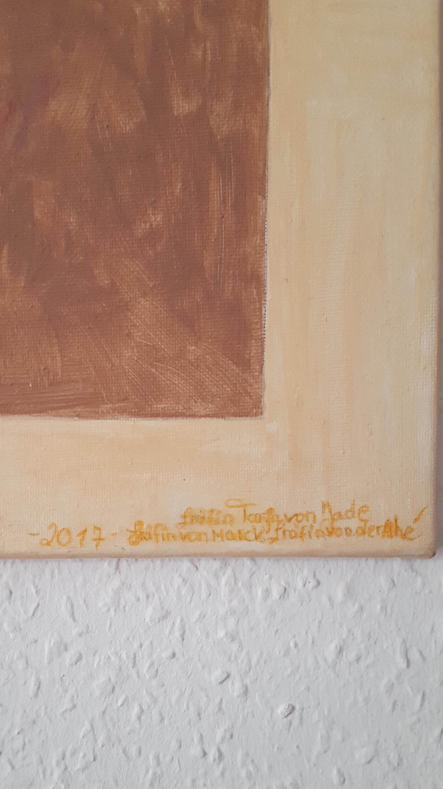 Acyrl Gemälde   Ton Krüge               40X50 cm X 1,5 cm