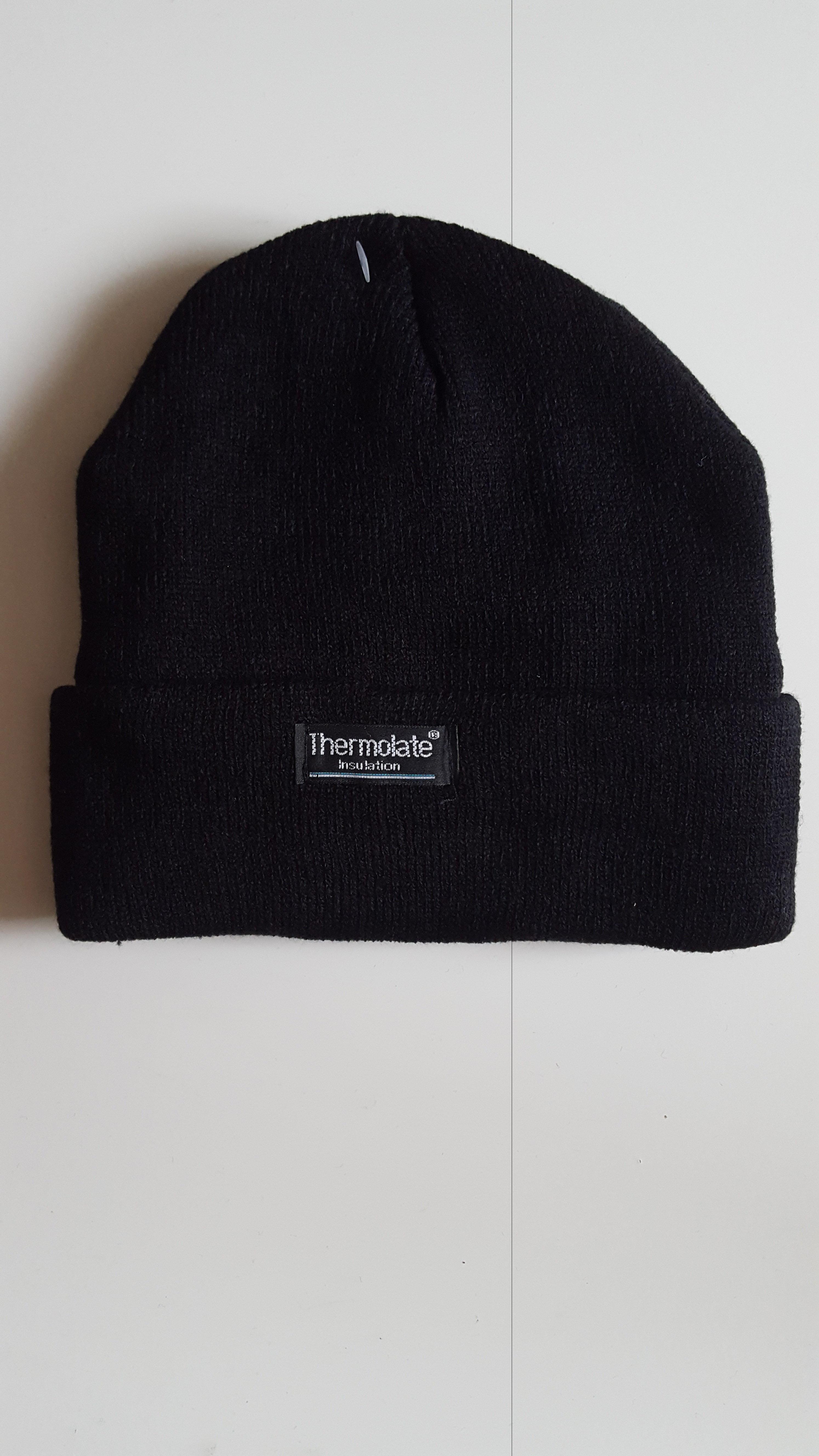 Winter Mütze Universal Größe  Schwarz 030