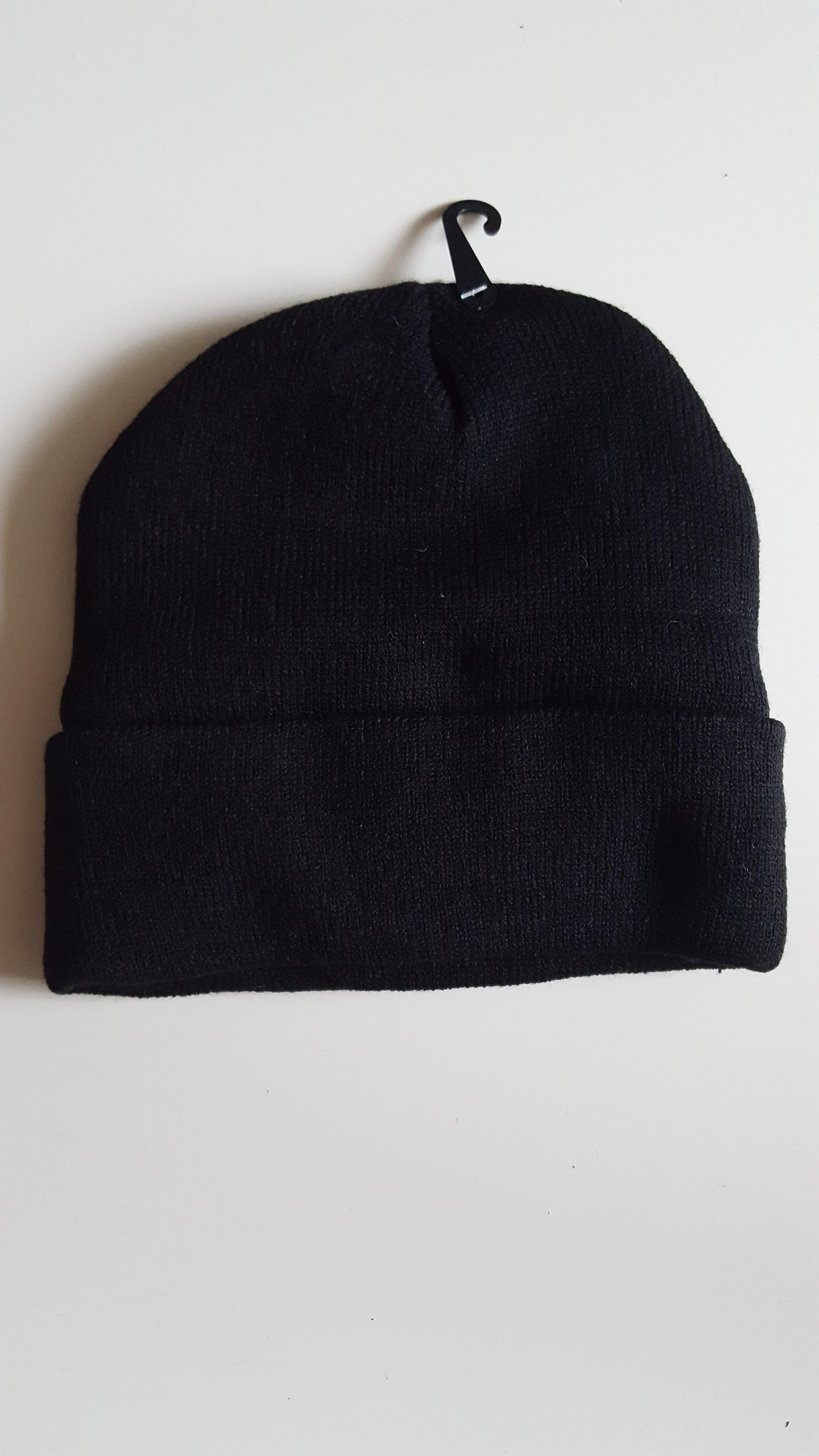 Winter Mütze Universal Größe  Schwarz