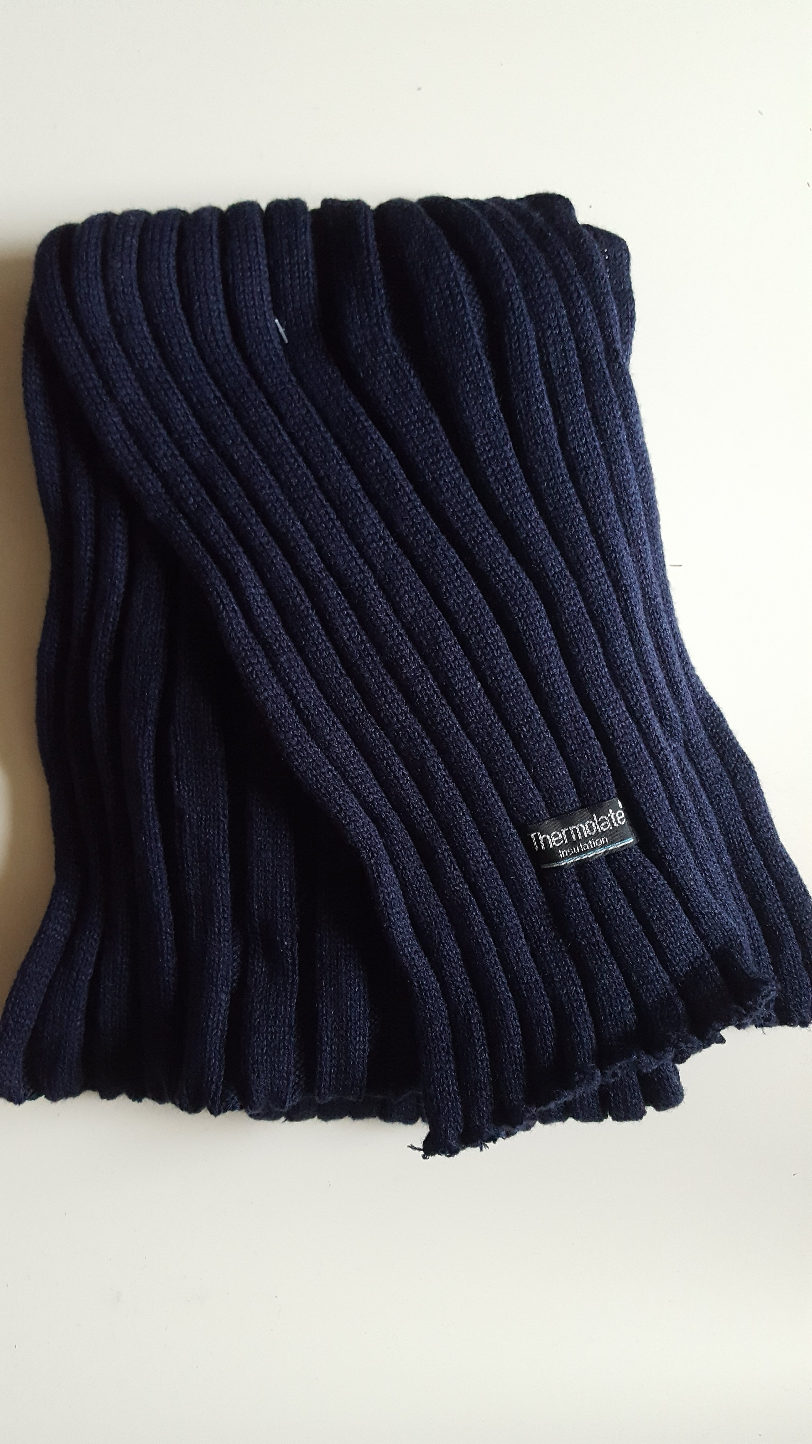 Winterschal für Sie&Ihn         Farbe :  Blau 032