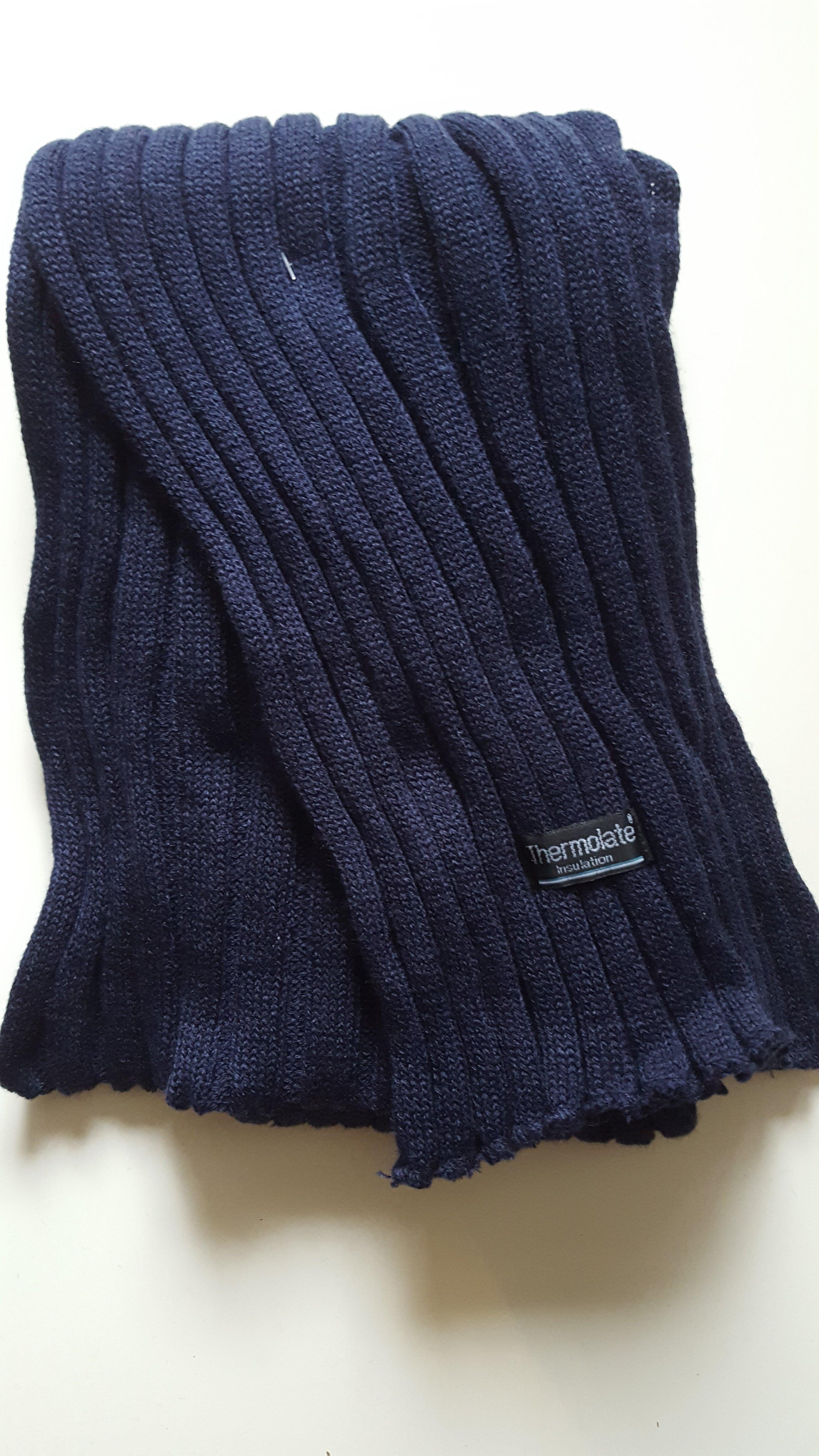 Winterschal für Sie&Ihn         Farbe :  Blau