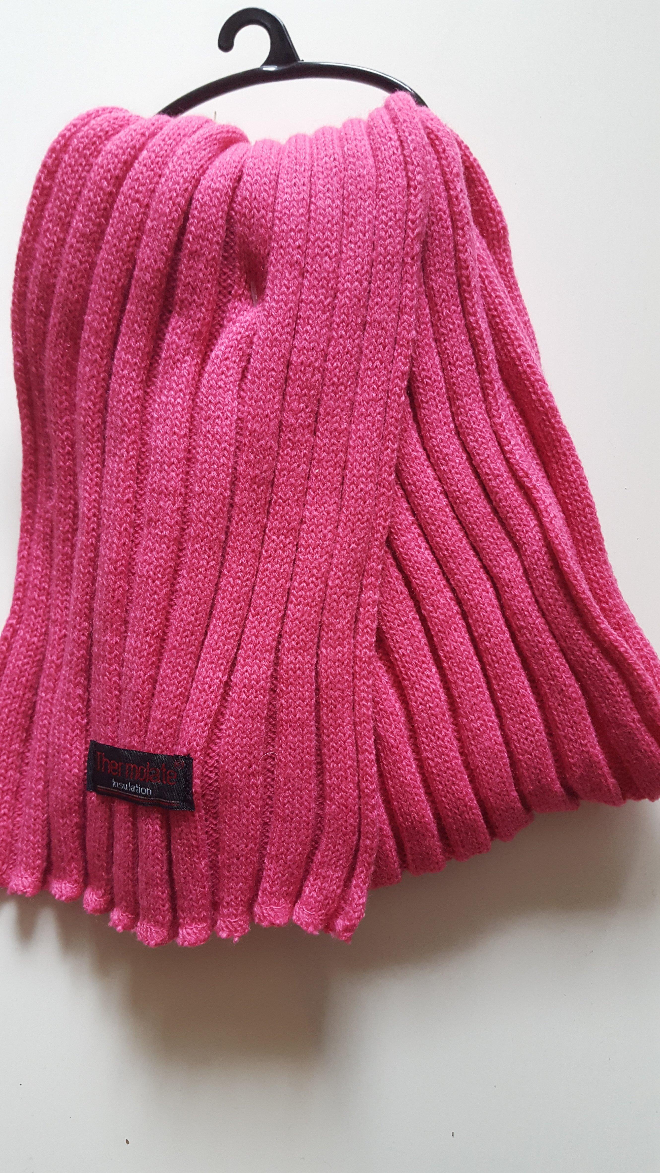 Kinderschal Farbe Pink 034