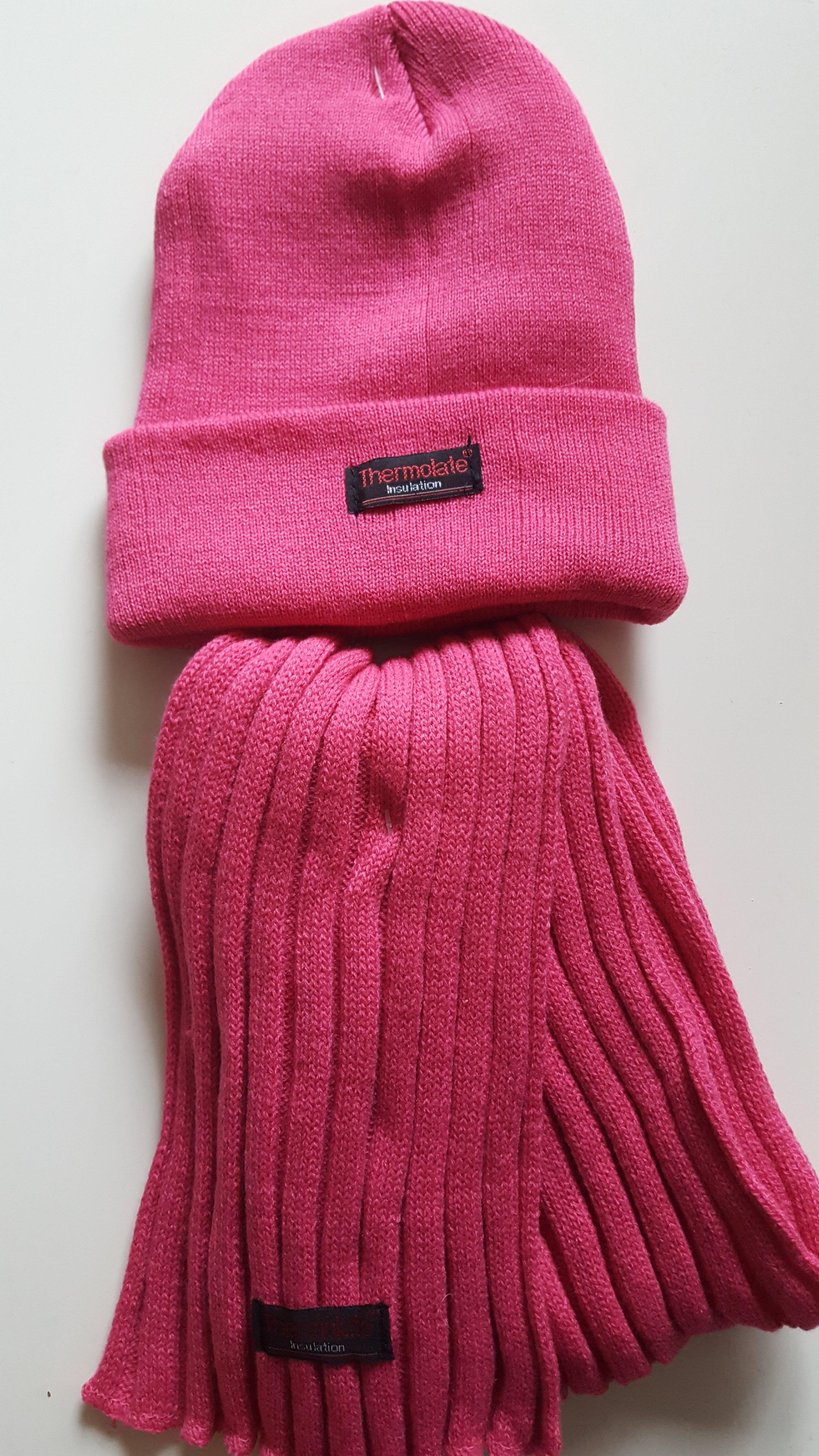 Kinderschal Farbe Pink