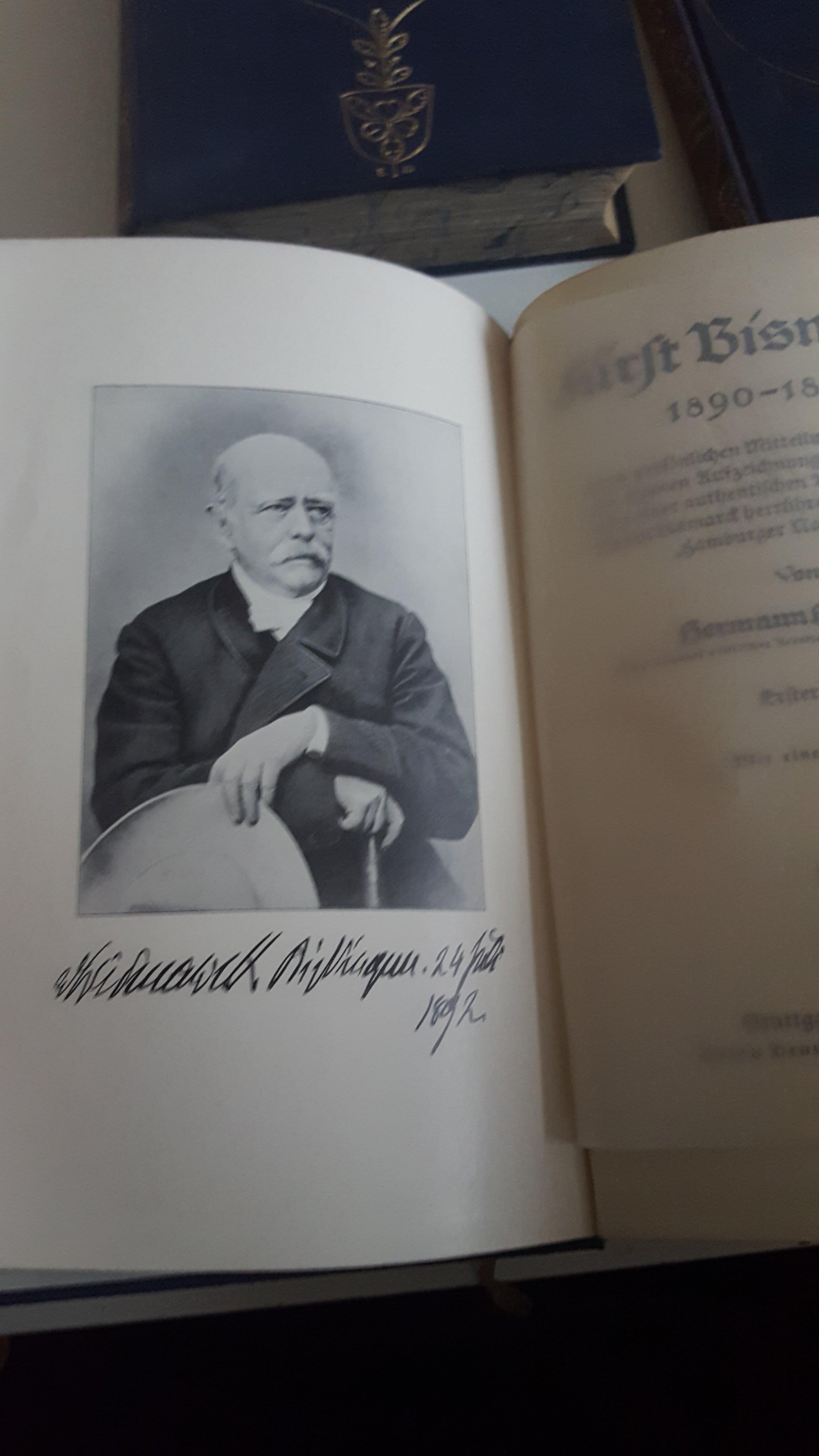 Fürst Bismarck 1890-1898 3 Bände vollständig 1913 / 1914 Hermann Hofmann