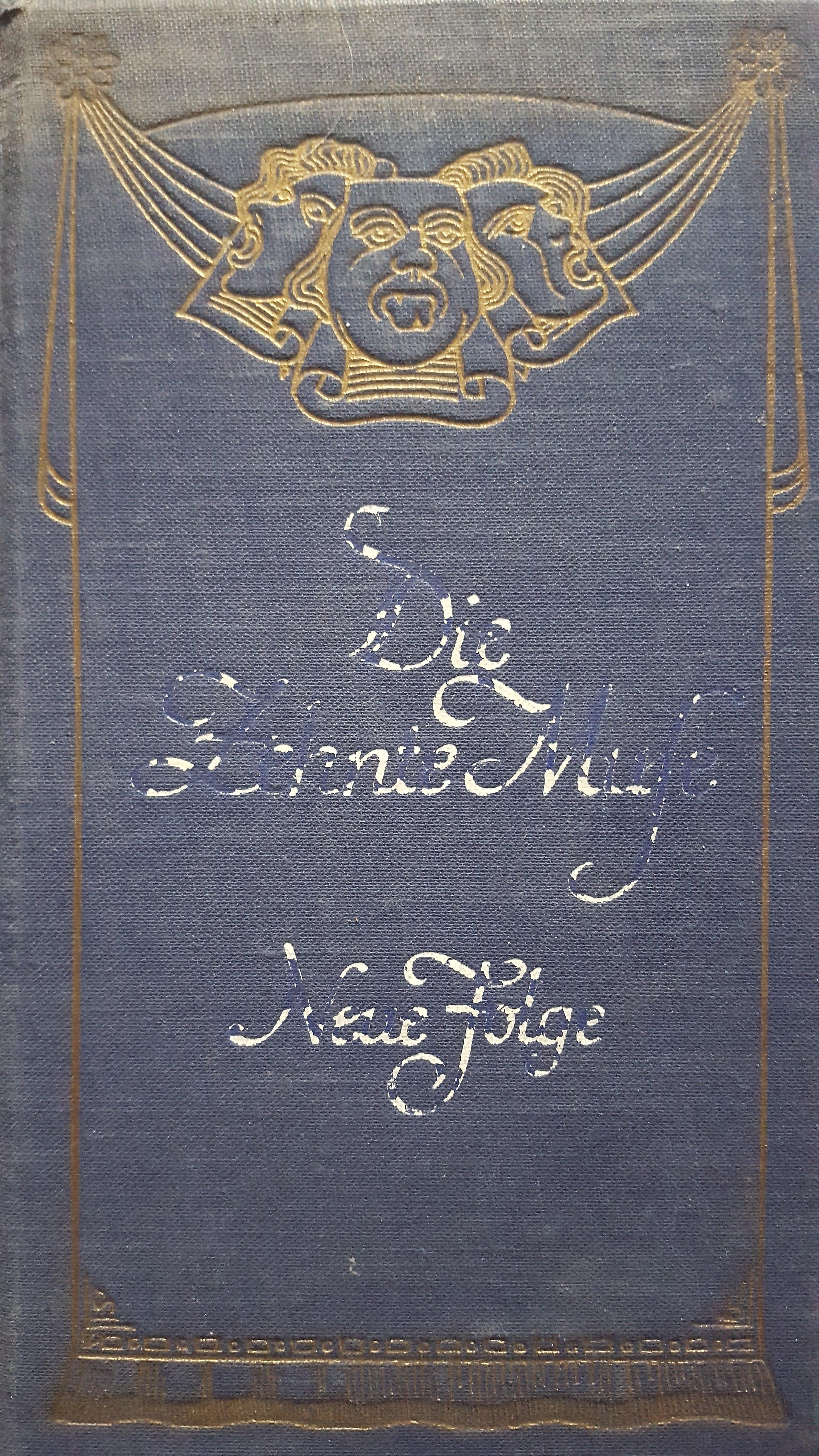 Die Zehnte Muse - Neue Folge   1925  Dichtungen vom Brettl und fürs Brettl aus vergangenen Jahrhunderten und aus unseren Tagen Begründet von Maximilian Bern 101