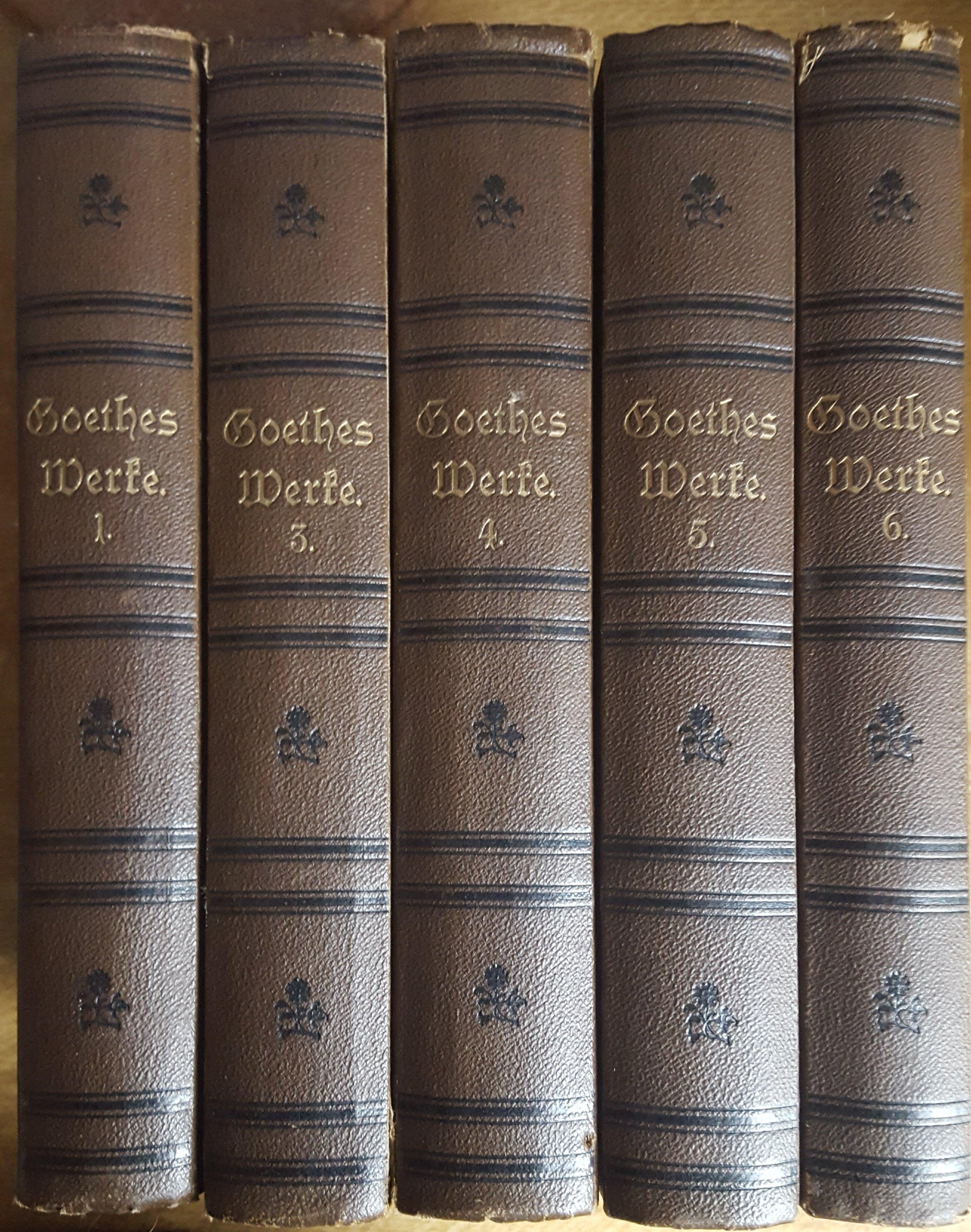 Goethes sämmtliche Werke 1877 104