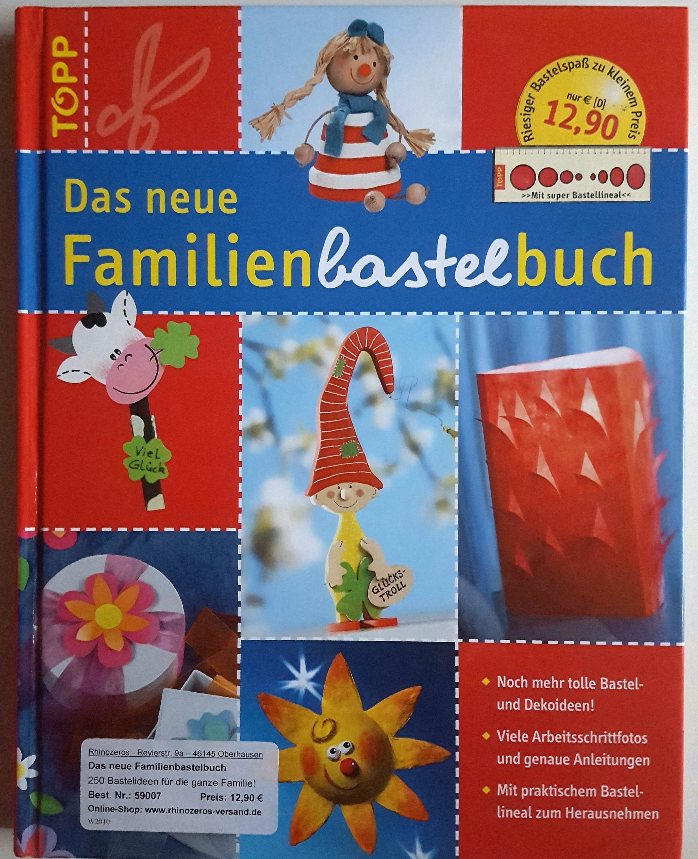 Das neue Familienbastelbuch 210