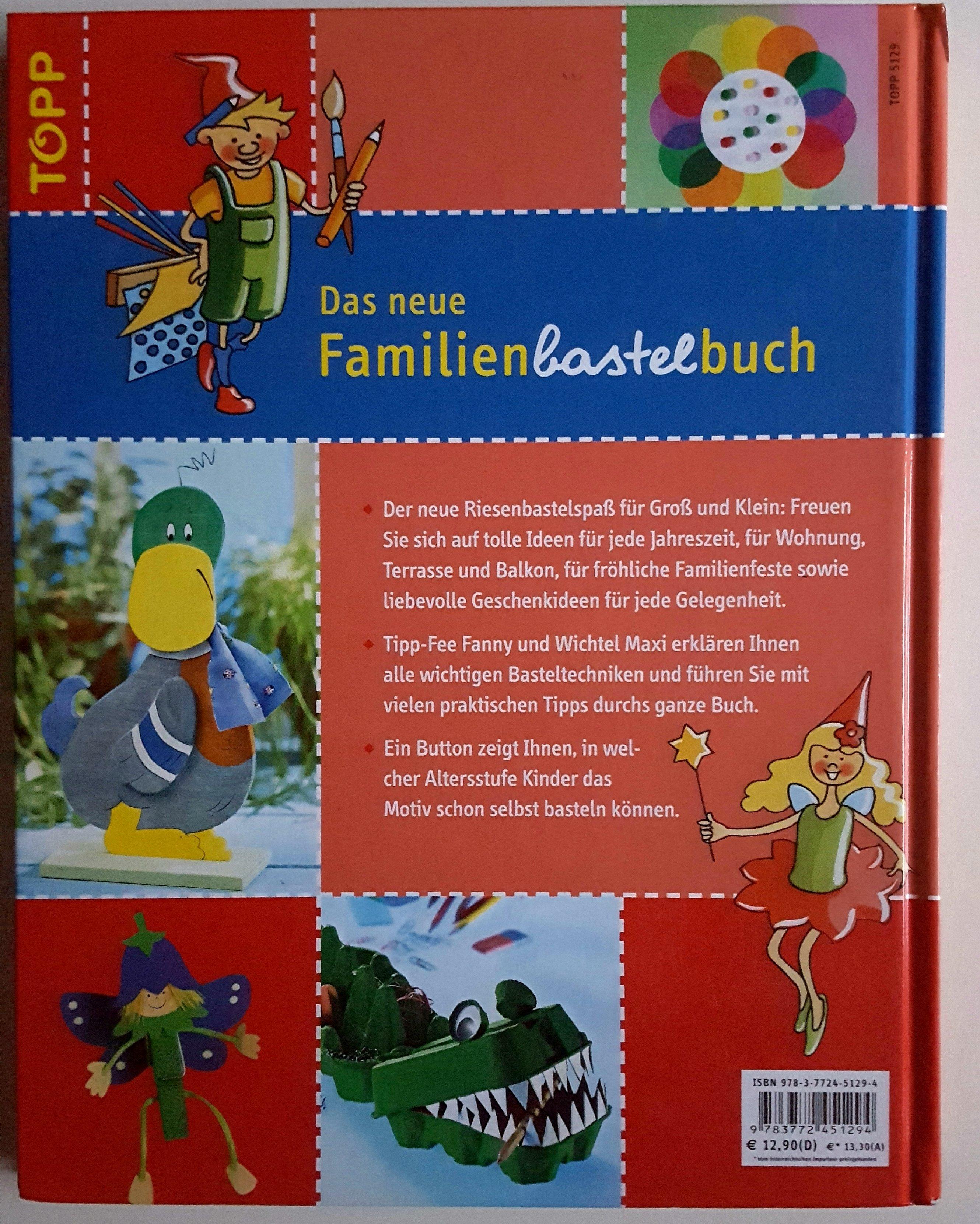 Das neue Familienbastelbuch