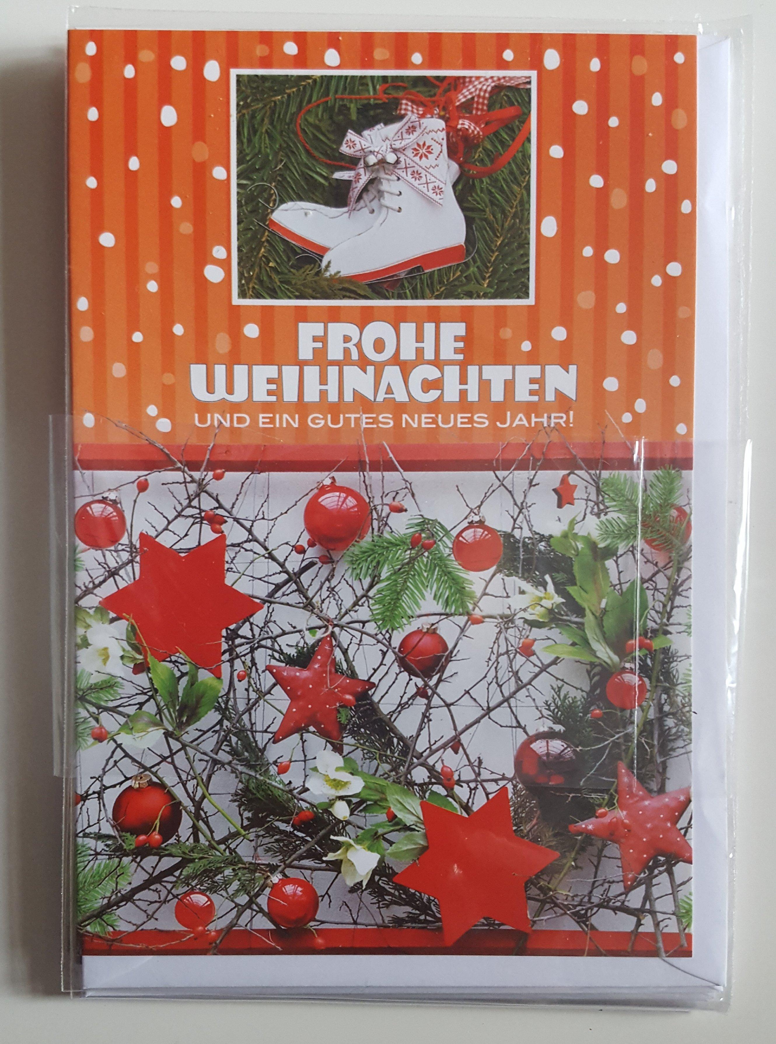 Weihnachts Grußkarte mit Umschlag Taunus Verlag 400