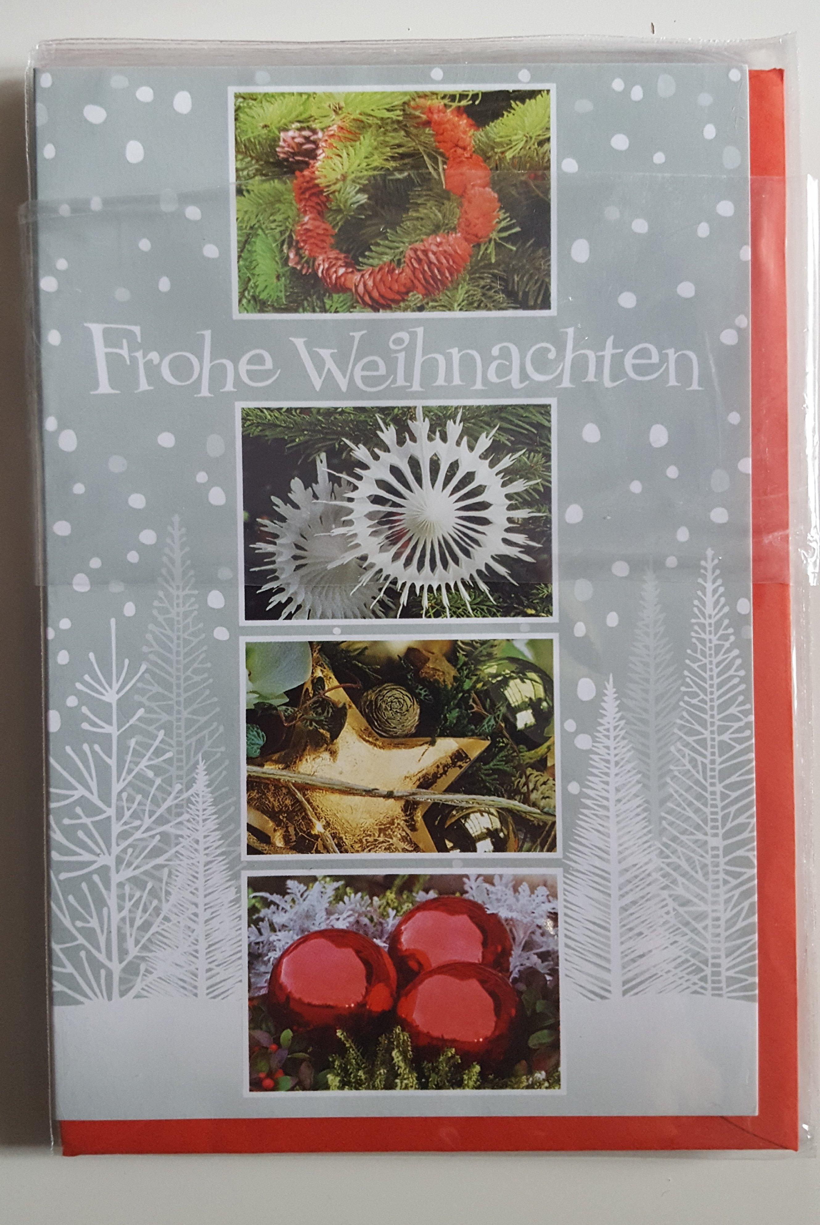 Weihnachts Grußkarte mit rotem Umschlag Taunus Verlag 401
