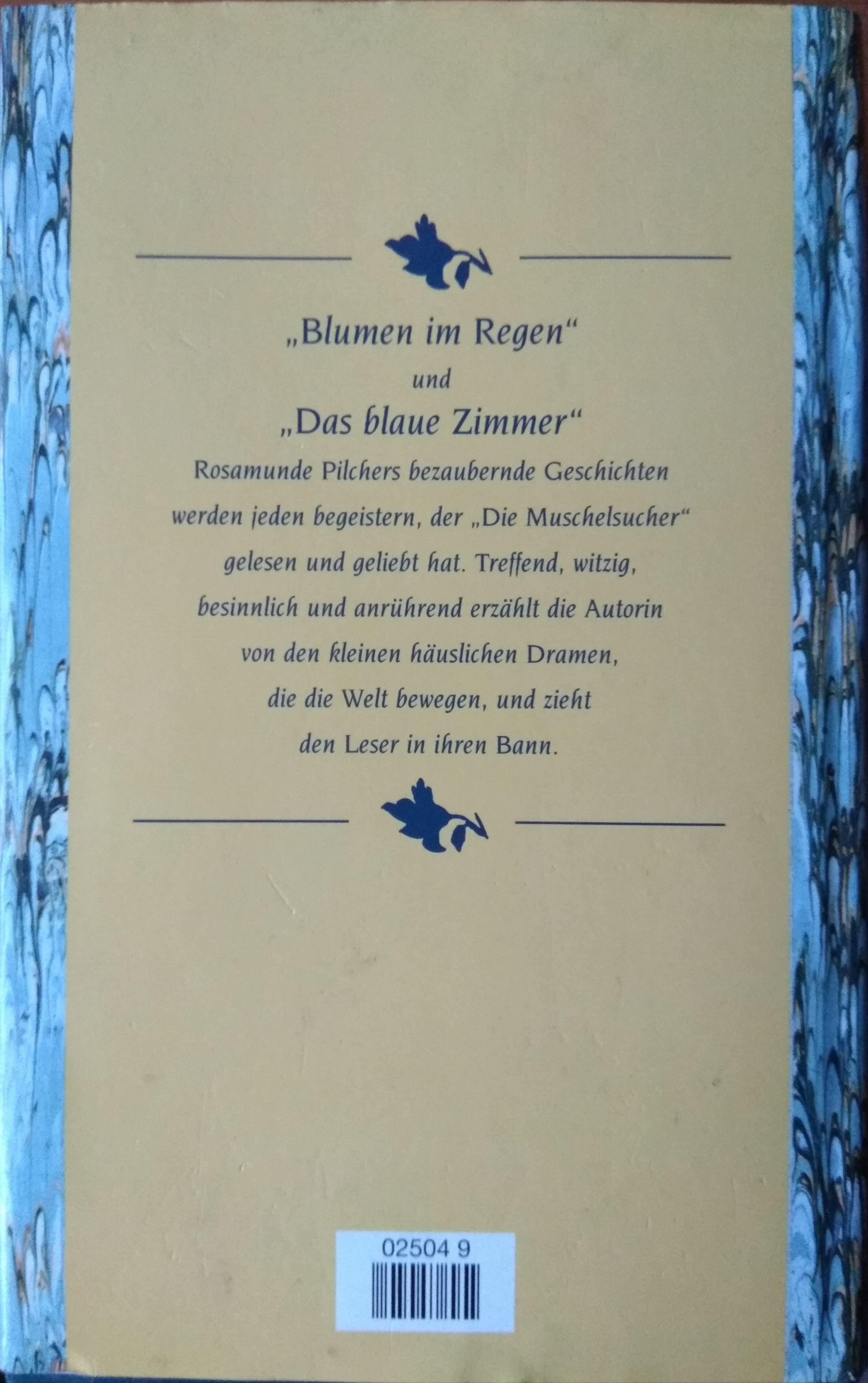 Rosamunde Pilcher Blumen im Regen Das blaue Zimmer