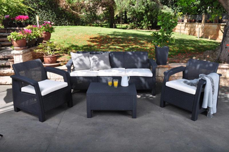 Комплект мебели «CORFU TRIPLE SET» 00281