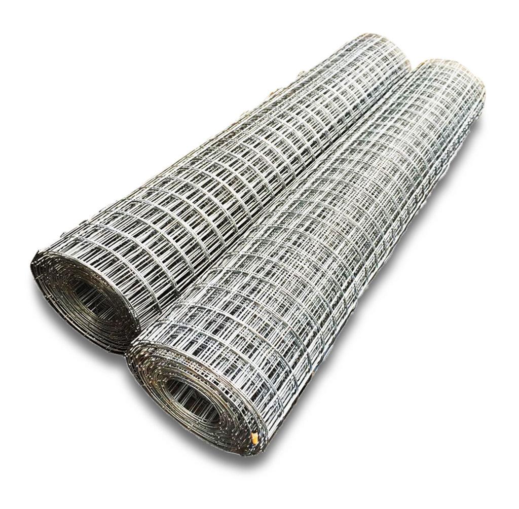 Сетка сварная из оцинкованной проволоки (50х50, диаметр 2,5 мм) 00255