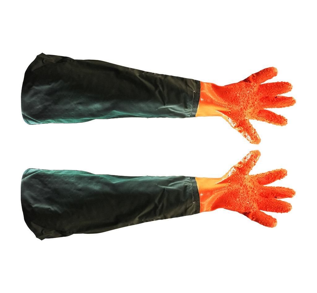 Перчатки с нарукавником 00424