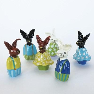 Osterhase aus Keramik