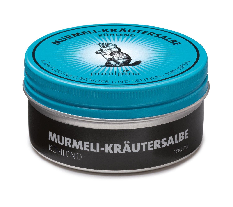 Murmeli-Kräutersalbe kühlend - 50ml