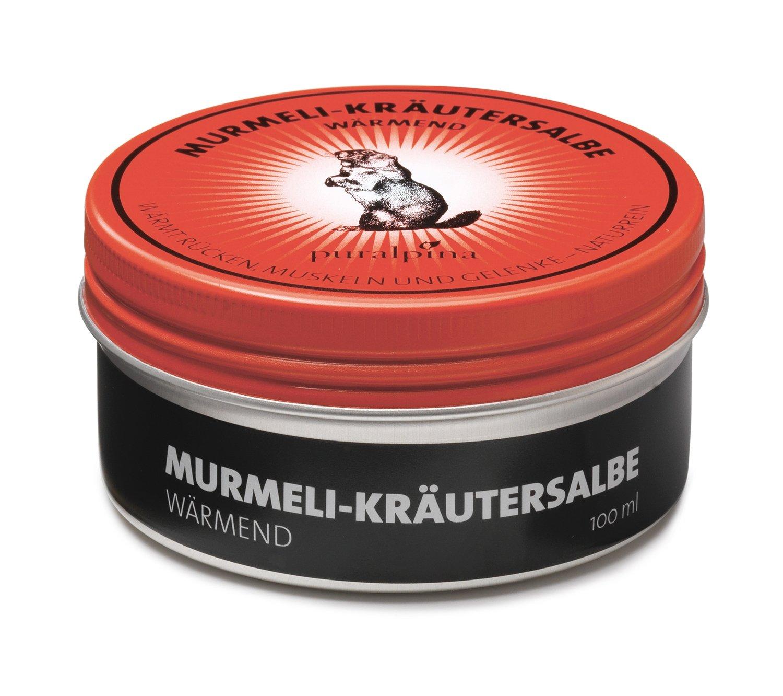 Murmeli-Kräutersalbe wärmend - 50ml