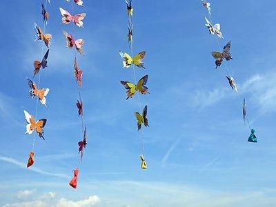 Papillon Girlande