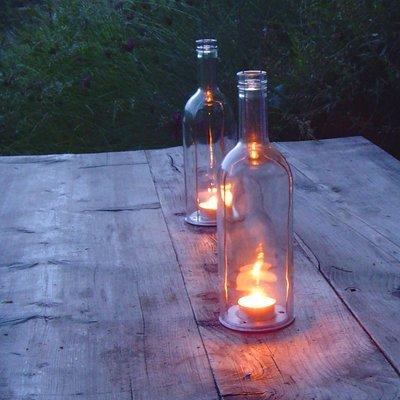 Flaschenlaterne - uni