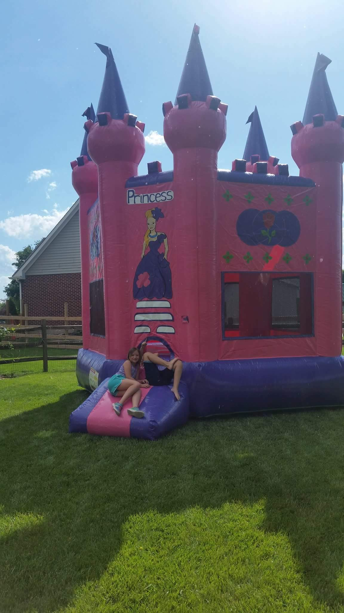 Princess Bounce House PRIN-001