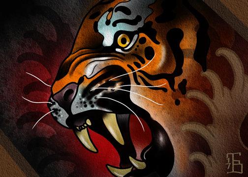 Tiger Print 00001