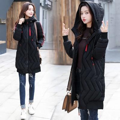 Women Warm Hooded Thick Long Winter Coat