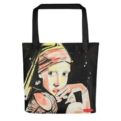 Tote bag 'Sneaker Girl' by J.M. Art