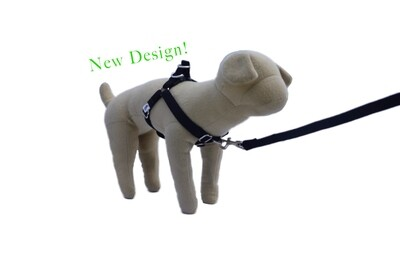 R Eco-Friendly Bamboo 'Dual Clip' Step-In Dog Harness