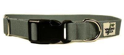 Eco Friendly Bamboo Single Layer Dog Collar - Pebble (1