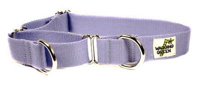 W Organic Bamboo Double Layer Martingale Dog Collar