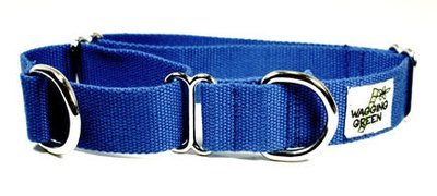 Eco Friendly Bamboo Double Layer Martingale Dog Collar - Twilight (1