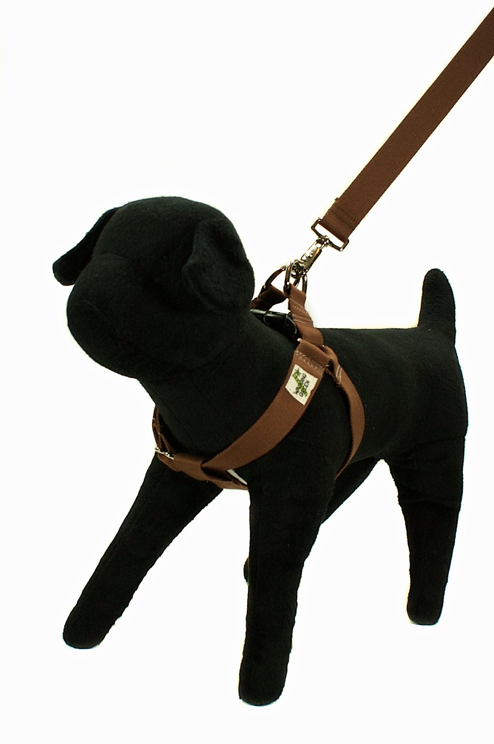 W Organic Bamboo Double Layer Dog Harness