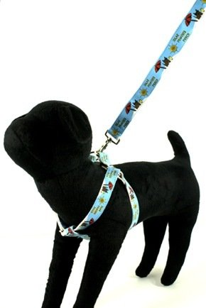 W Organic Bamboo Saving The Earth Series Dog Harness