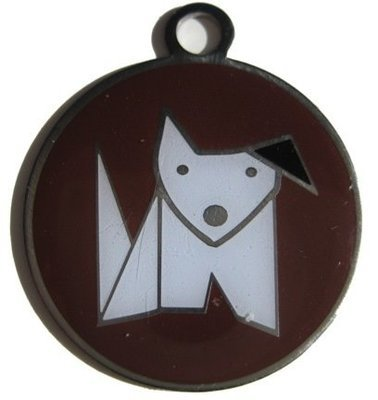 R Blank ID Tags for Dog Collars