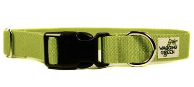 R Eco Friendly Bamboo Double Layer Dog Collar