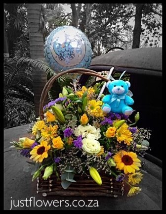 Baby Boy/Girl Basket Arrangement JF45