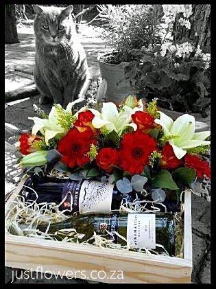 Wine & Flowers