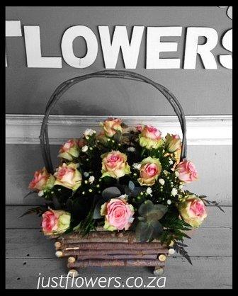 Basket Roses JF60
